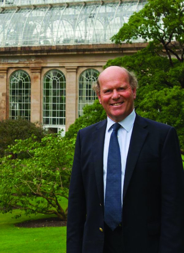 Dr David Rae, Director of Horticulture and Learning at the Royal Botanic Garden Edinburgh (RBGE)