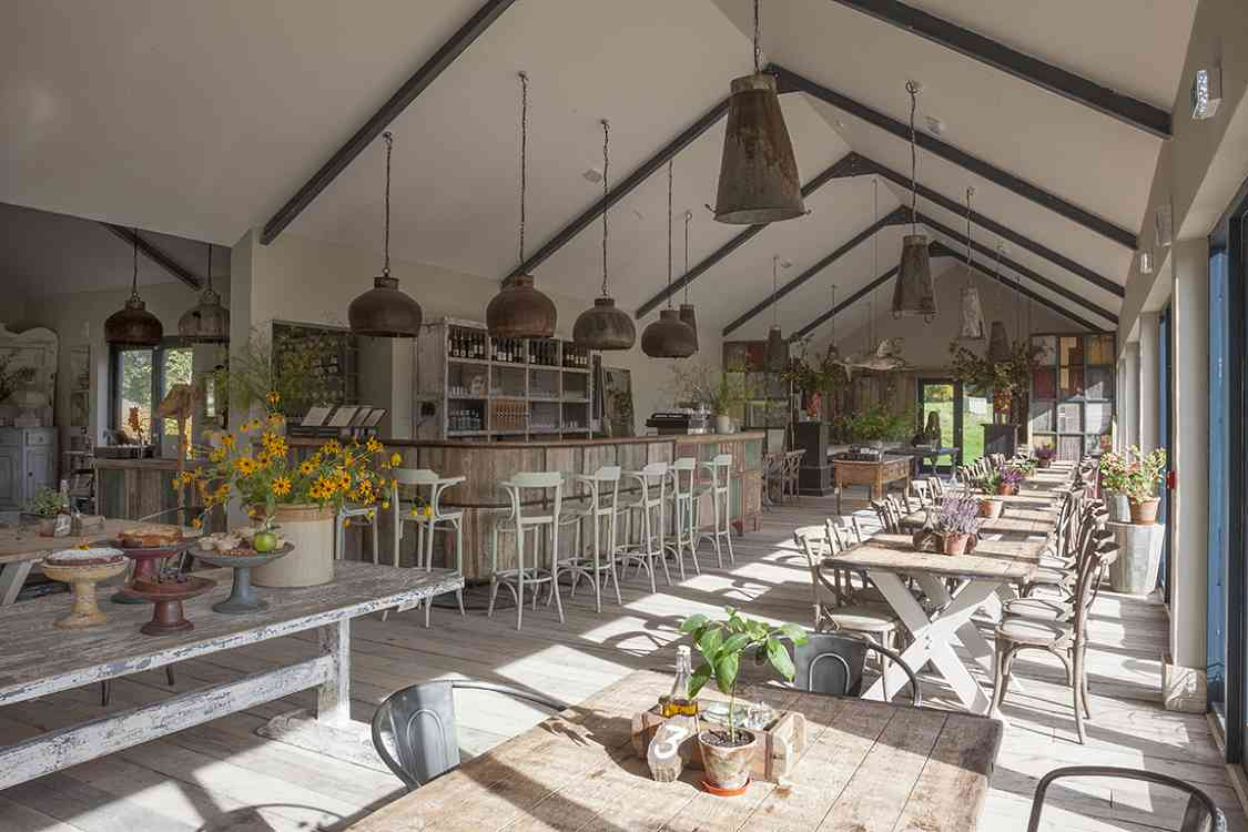 The green barn restaurant shop burtown house and for Cuisine on the green