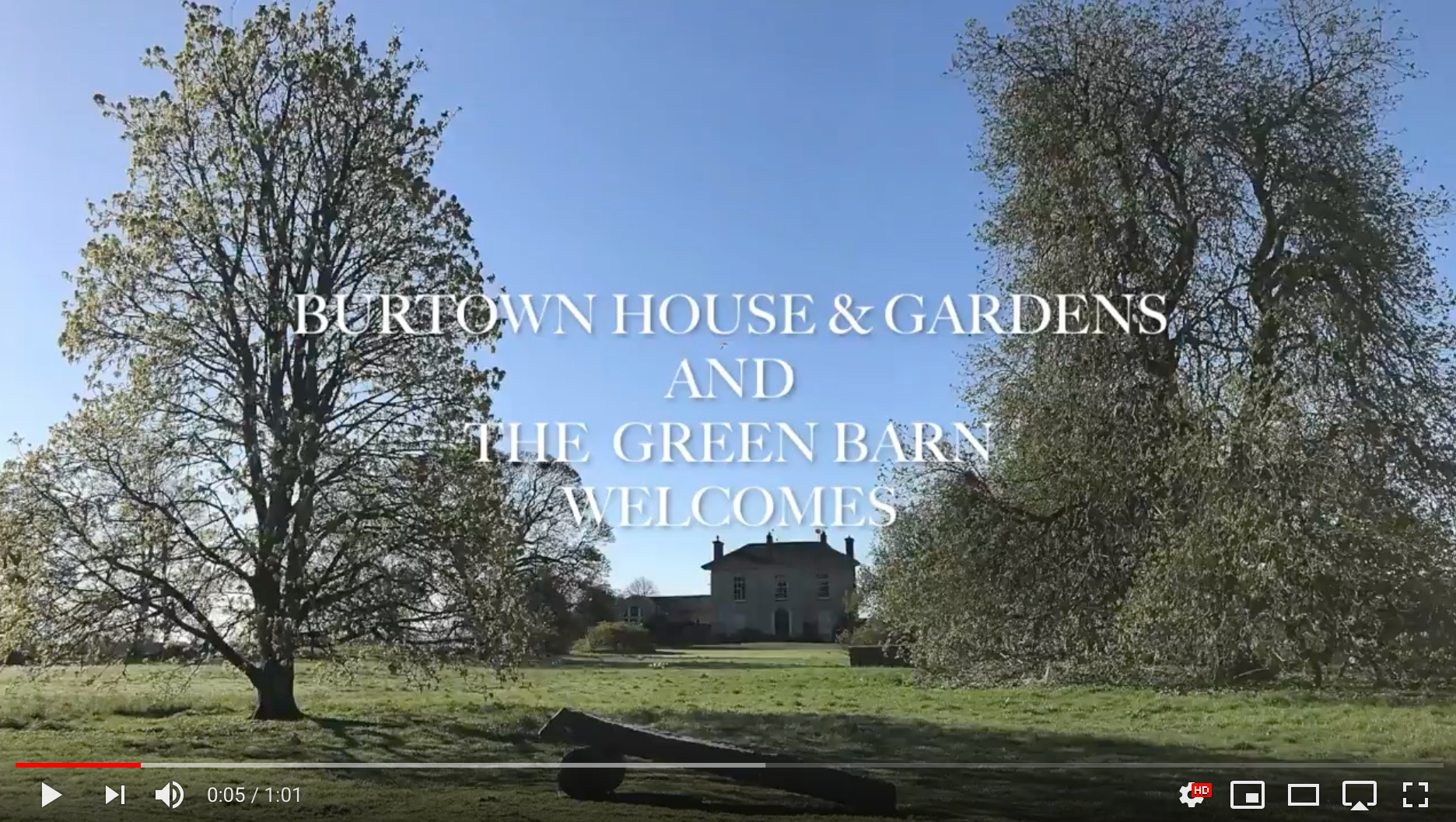 Weddings and Events at Burtown House and Gardens